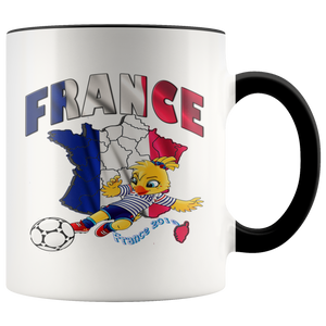 Soccer Accent Mug Collector's Women's World Cup 2019 Mugs-soccer Black {{ crystalmagicdesigns }}