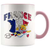 Soccer Accent Mug Collector's Women's World Cup 2019 Mugs-soccer Pink {{ crystalmagicdesigns }}
