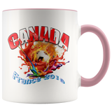 Canada Soccer Mug Women's World Cup 2019 Mugs-soccer Pink {{ crystalmagicdesigns }}