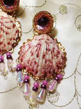 Calico Scallop Shell Earrings by Amanda MartinsonCalico Scallop Shell Earrings by Amanda Martinson