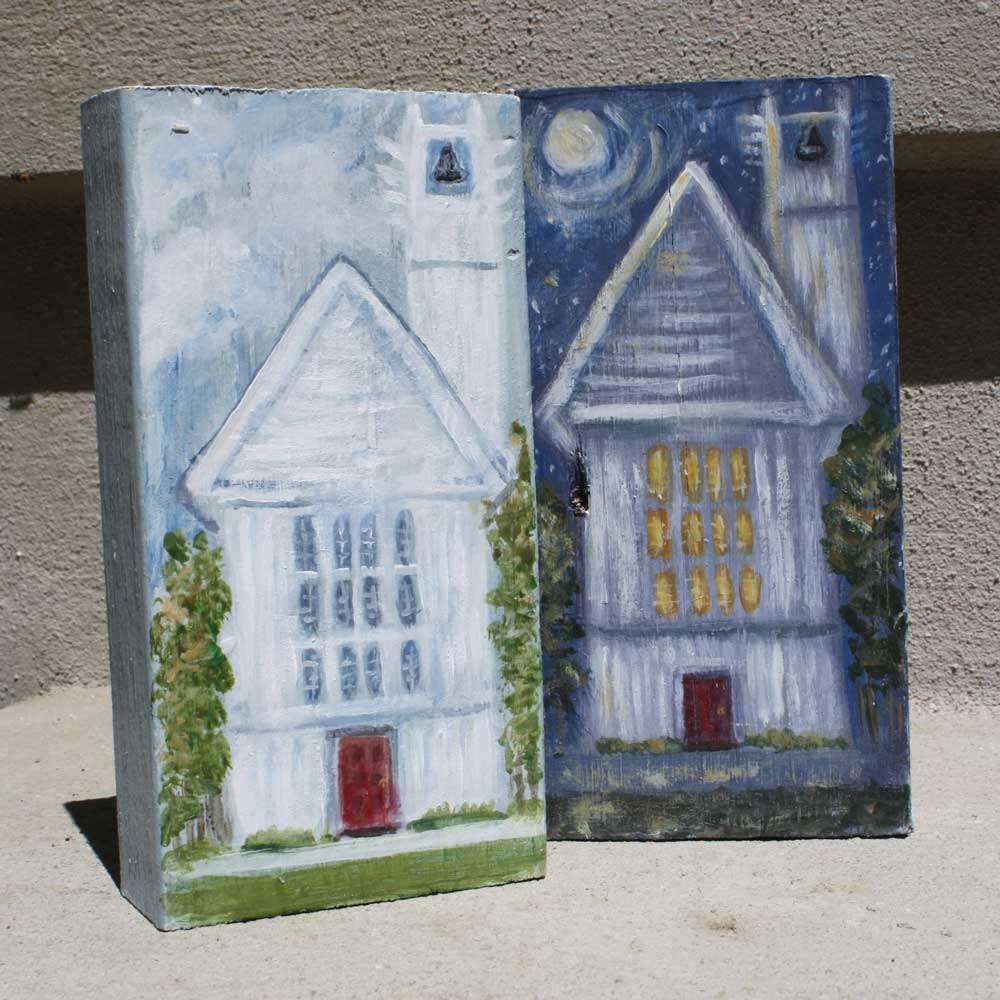 Seaside Chapel Art Blocks