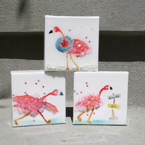 Flamingo Mini Canvas