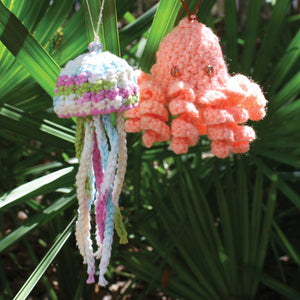 Knitted Sea Life Ornaments