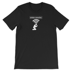 Wireless Connection Unisex T-Shirt