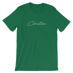 Christian Signature Short-Sleeve Unisex T-Shirt