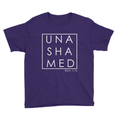 Unashamed Youth Short Sleeve T-Shirt