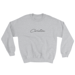Christian Signature Sweatshirt