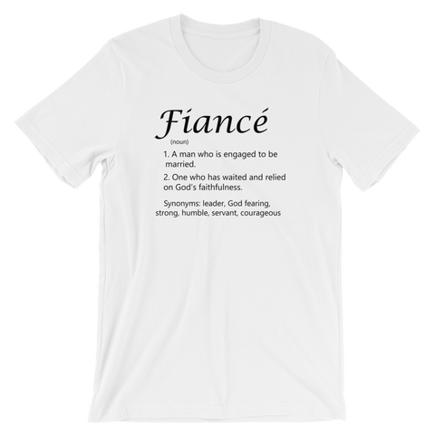 Fiance Short-Sleeve Unisex T-Shirt