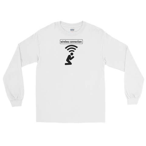 Wireless Connection Long Sleeve T-Shirt