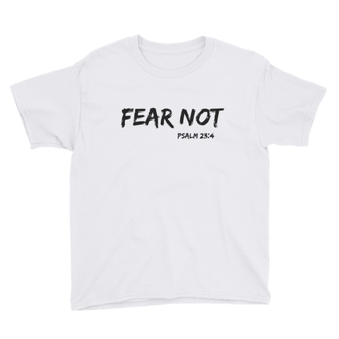 Fear Not Youth Short Sleeve T-Shirt