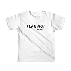 Fear Not Short sleeve kids t-shirt