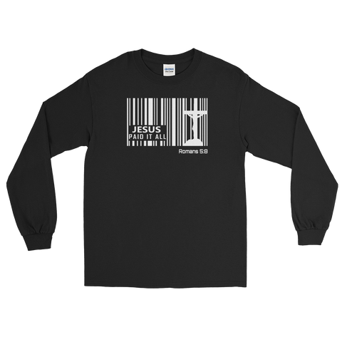 Jesus Paid It All Long Sleeve T-Shirt