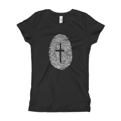 Fingerprint Girl's T-Shirt