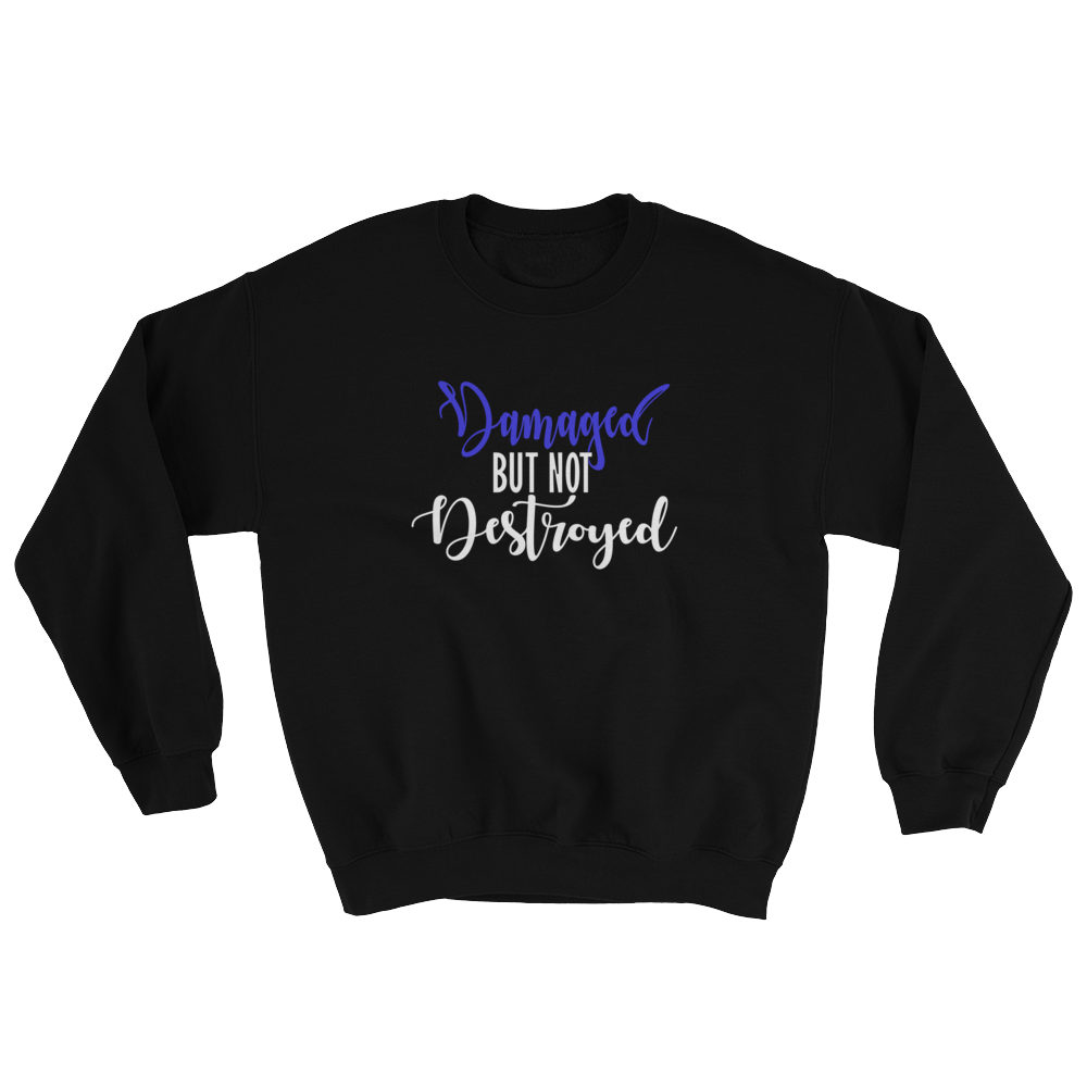 Damaged But Not Destroyed Sweatshirt