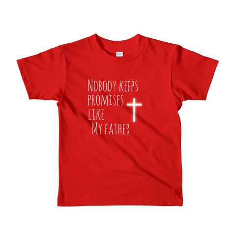 Promises Short sleeve kids t-shirt