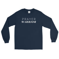 Prayer Warrior Long Sleeve T-Shirt
