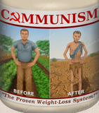 Communist Weight Loss Plan Cotton Tote Bag