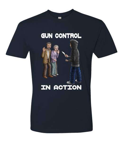 Gun Control In Action Short Sleeve T-shirt