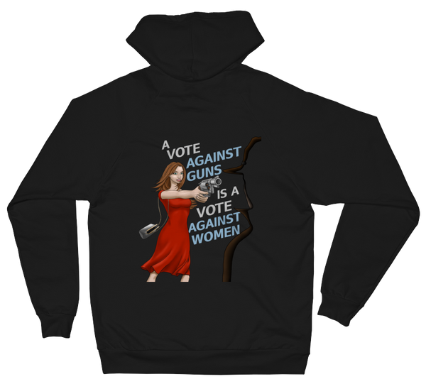 A Vote Against Women Unisex Fleece Hoodie