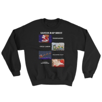Santa's Rap Sheet Sweatshirt