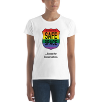 Not so Safe Space Women's short sleeve t-shirt