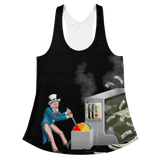 Inflation Women's All-Over Racerback Tank