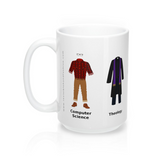 Liberal Arts Barista - Large White Mug 15 oz.