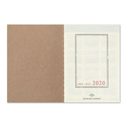 Traveler's Notebook Refill 2020 Weekly Diary for Passport Size - noteworthy