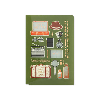 Traveler's Notebook Clear Folder 2020 for Passport Size