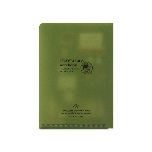 Traveler's Notebook Clear Folder 2020 for Passport Size - noteworthy
