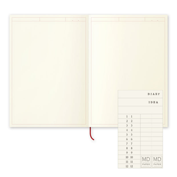 Midori MD Notebook Journal A5 - noteworthy