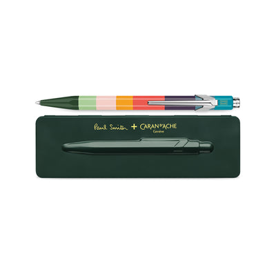 Caran D´Ache 849 Ballpen - Paul Smith Edition, Racing Green Case