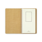 Traveler´s Company A5 Slim Watercolor Paper Spiral Ring Notebook - noteworthy