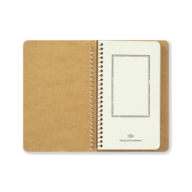 Traveler´s Company A6 Slim Kraft Spiral Ring Notebook - noteworthy
