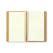 Traveler´s Company A6 Slim Paper Pocket Spiral Ring Notebook - noteworthy