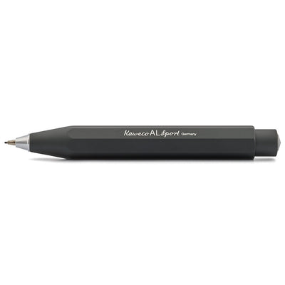 Kaweco AL Sport Mechanical Pencil 0.7mm Black - noteworthy