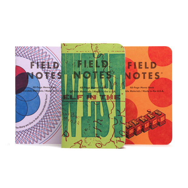 Field Notes Fall 2020 Limited Edition - United States of Letterpress Pack A