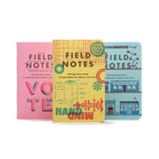 Field Notes United States of Letterpress, Pack C