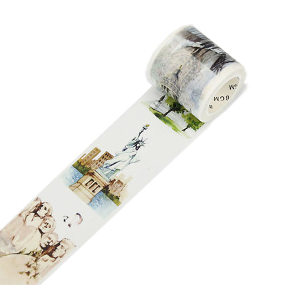 BGM  Washi Tape, Travel America - noteworthy