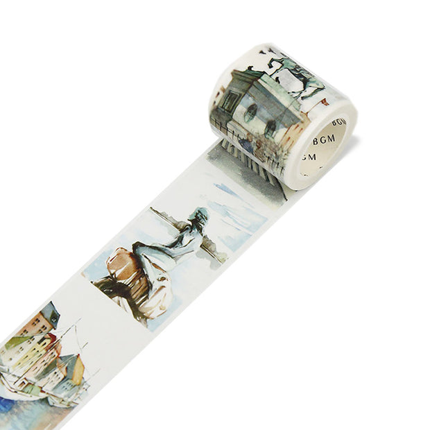 BGM Special, Washi Tape, Travel Denmark - noteworthy