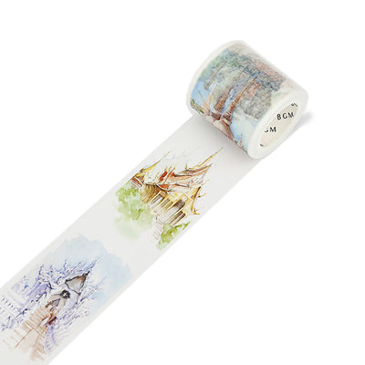 BGM Special, Washi Tape, Travel Thailand - noteworthy