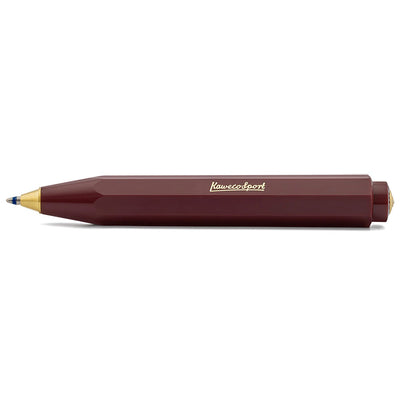 Kaweco Classic Sport Ball Pen Bordeaux - noteworthy