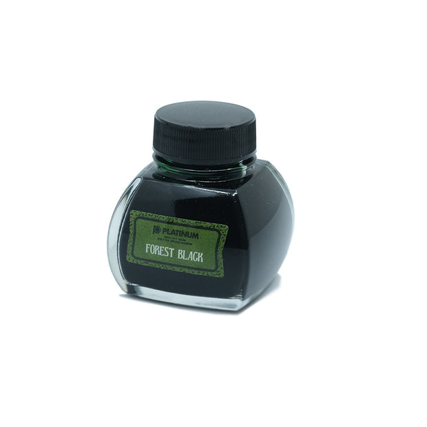 Platinum Classic Ink, Fountain Pen Ink Bottle, Forest Black - 60ml