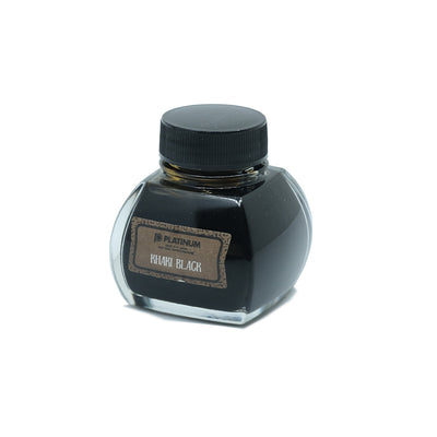 Platinum Classic Ink, Fountain Pen Ink Bottle, Khaki Black - 60ml