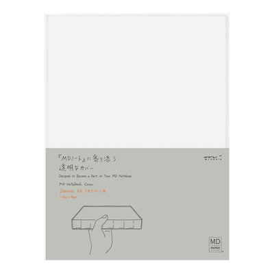 MD Notebook Journal, Transparent Cover - A5