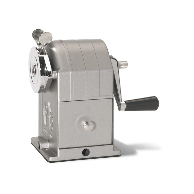 Caran d´Ache Desk Pencil Sharpener Steel Grey - noteworthy