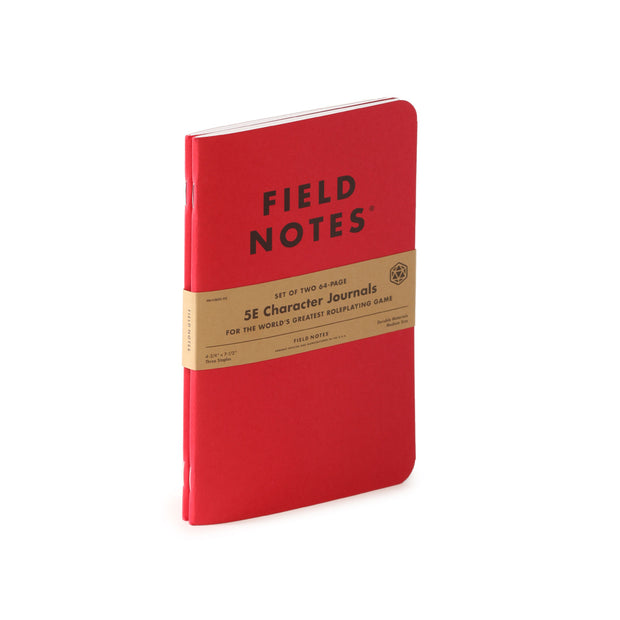 Field Notes 5E Character Book