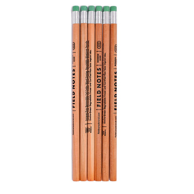 Field Notes Pencils #2 - Set of 6 - noteworthy