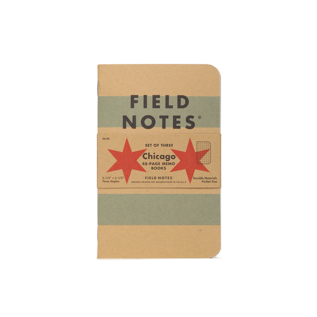 Field Notes Hometown Edition Memobooks: Chicago - noteworthy