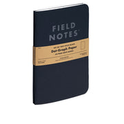 Field Notes, Pitch Black Notebooks - Set of 2 - noteworthy
